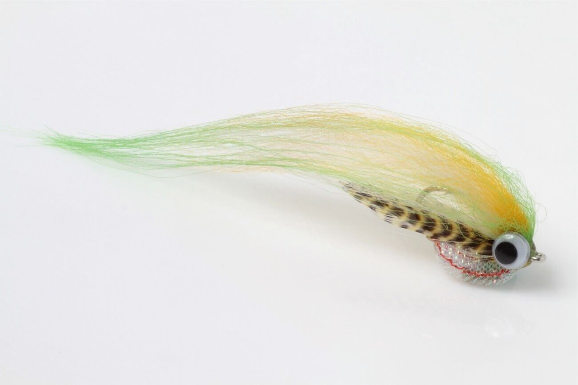 fly tying Helter Skelter Pike Fly jig