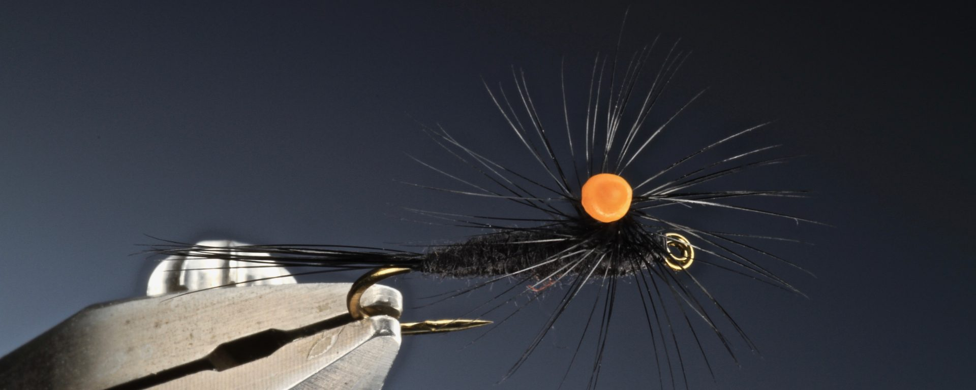 fly tying Poly weld para dry fly