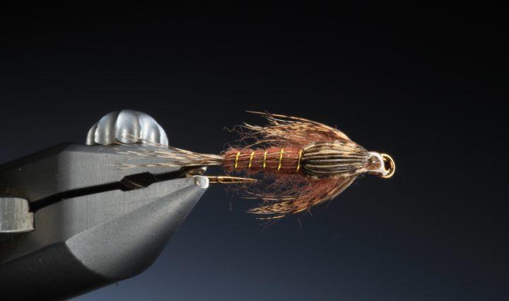 fly tying model mayfly nymph