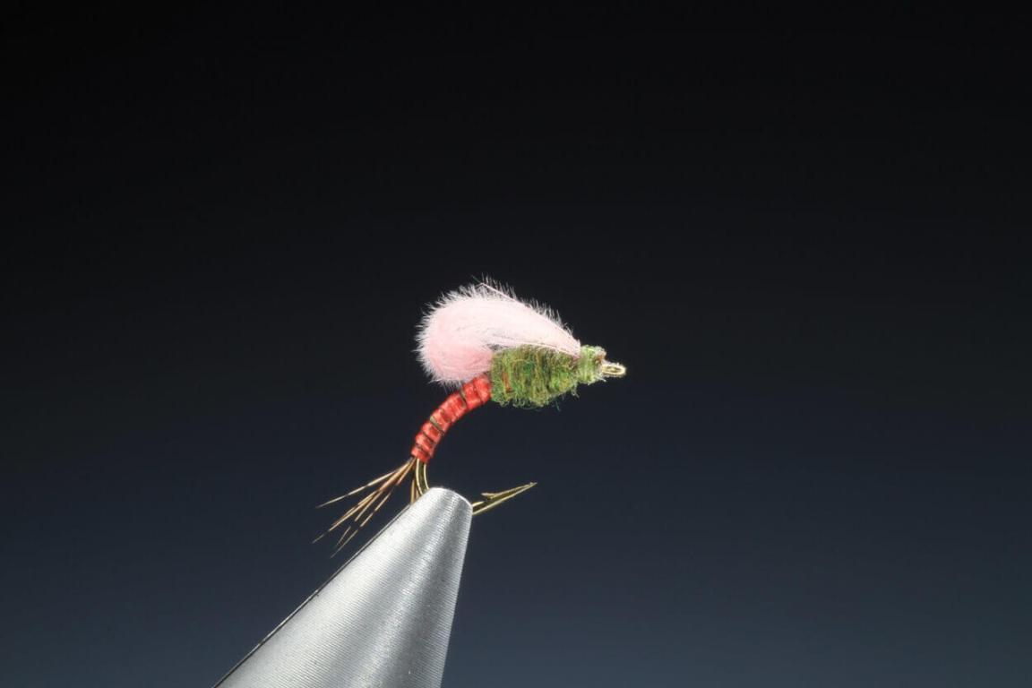 fly tying CdC loop wing emerger video tutorial