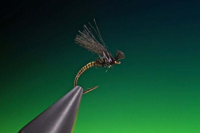 fly tying Poly wing midge