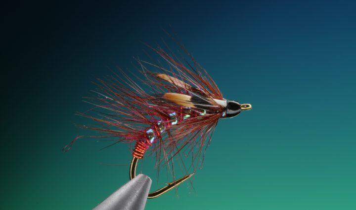 fly tying Claret snatcher wet fly