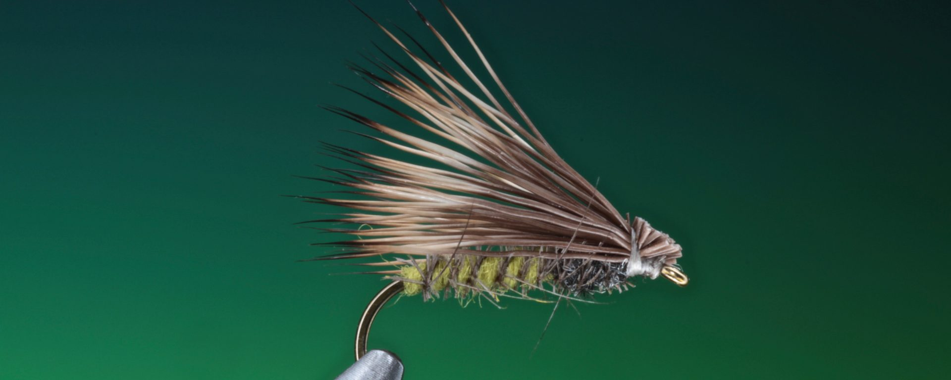 fly tying super pupa and a variant