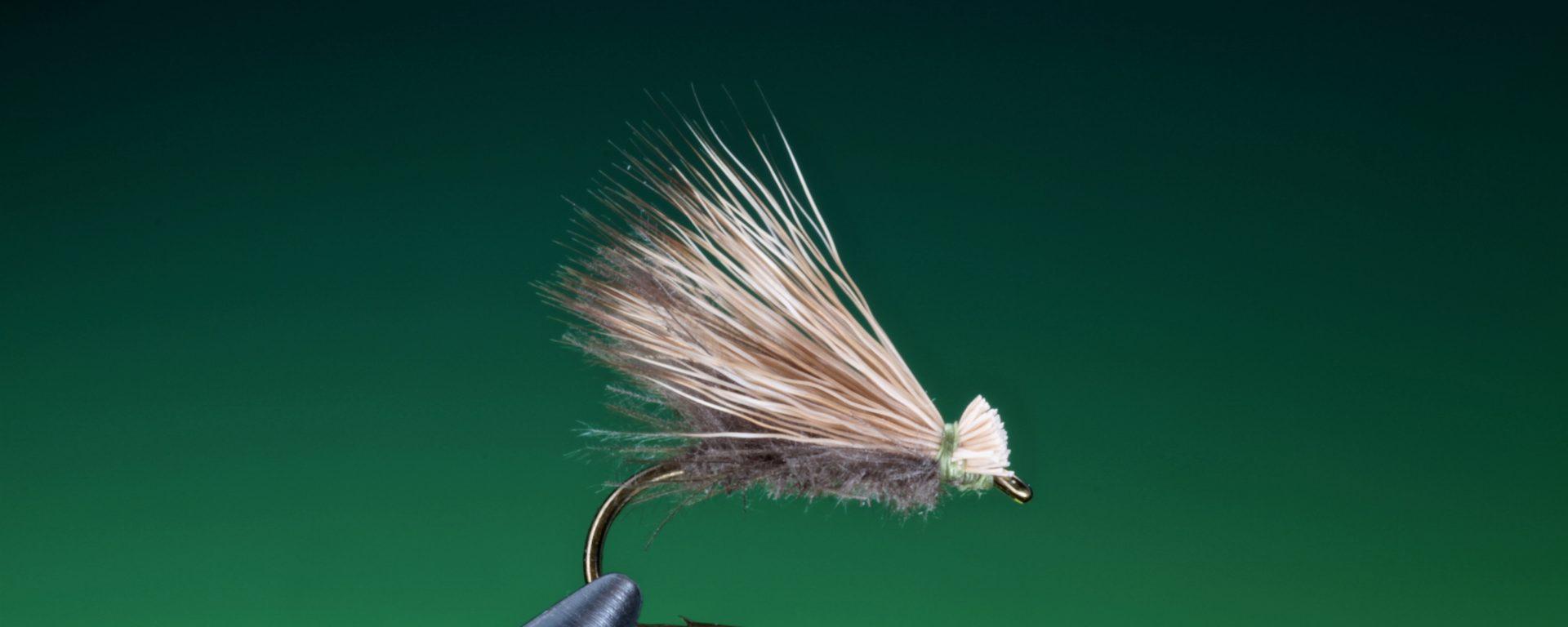 fly tying CDC Elk hair caddis dry fly
