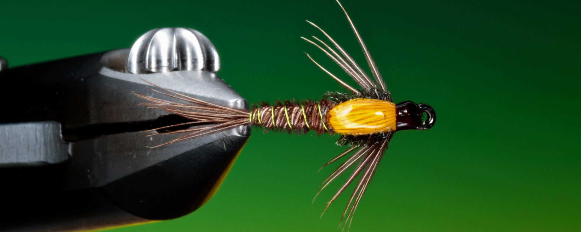 fly tying Hot spot pheasant tail nymph