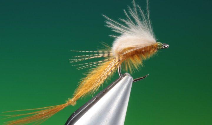 fly tying Vulgata mayfly emerger by Barry Ord Clarke