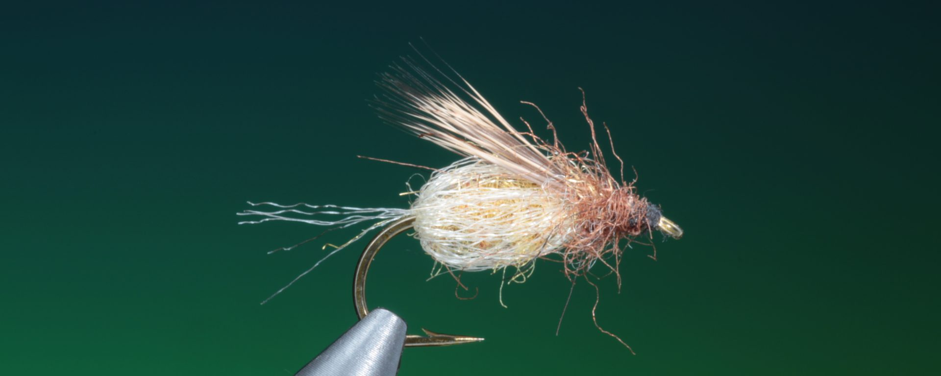 how to tie LaFontaine Sparkle pupa emerger