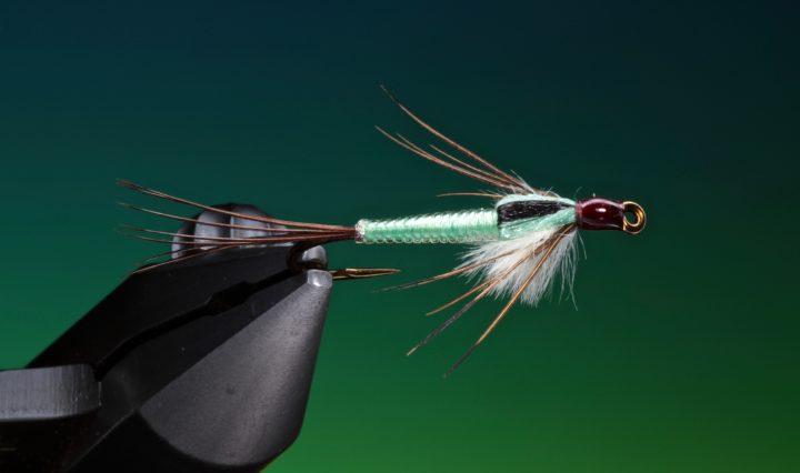fly tying Ultra Lace Mayfly nymph