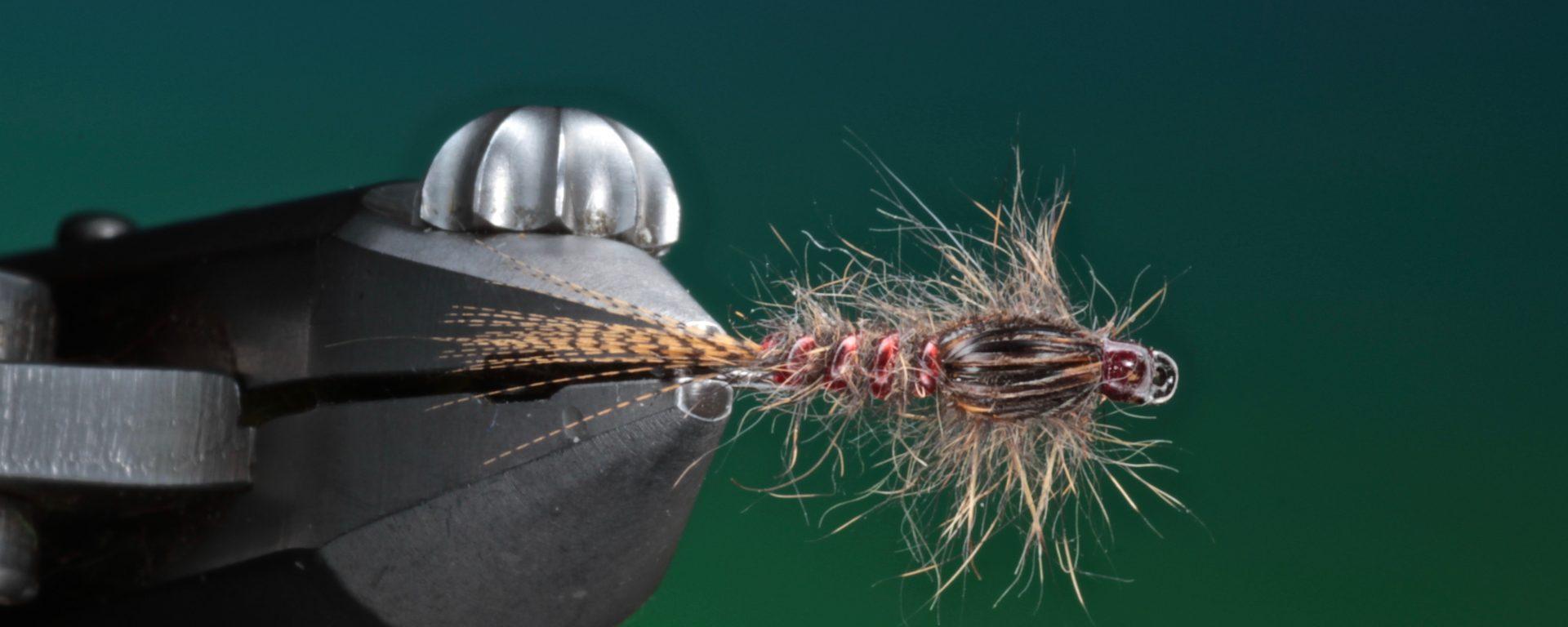 fly tying Scruffy Squirrel nymph
