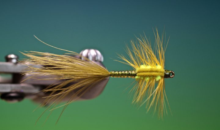 fly tying video tutorial how to tie Montana Damsel nymph