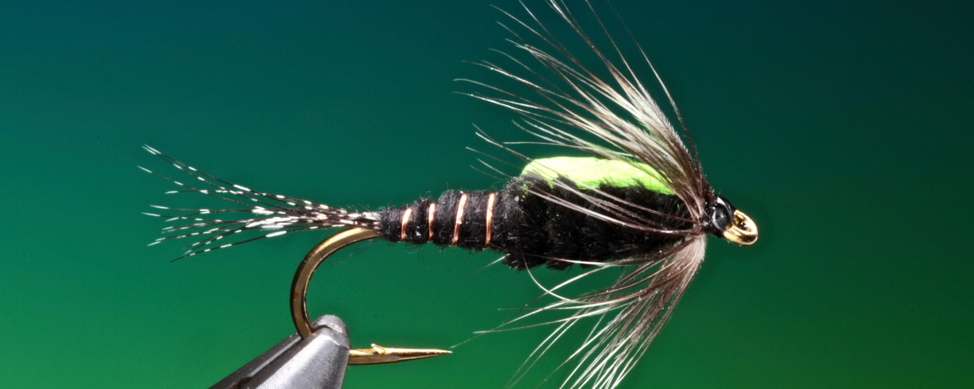 fly tying Black Martinez nymph