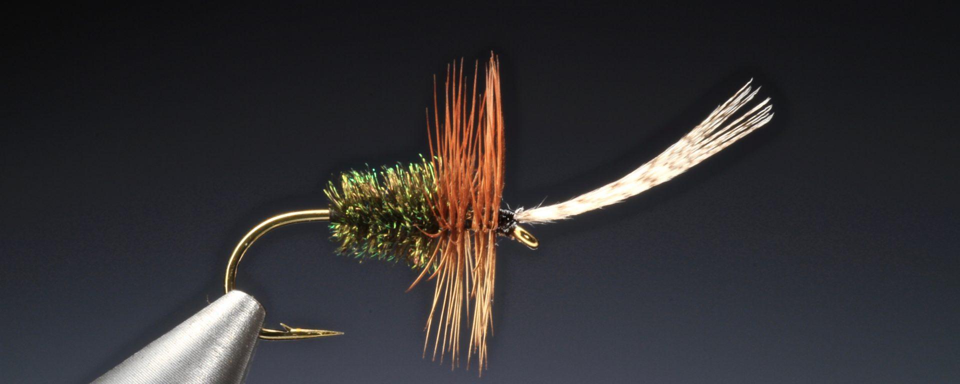 fly tying John Storey dry fly
