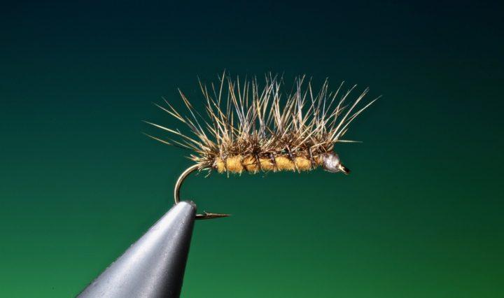 fly tying Crackleback attractor