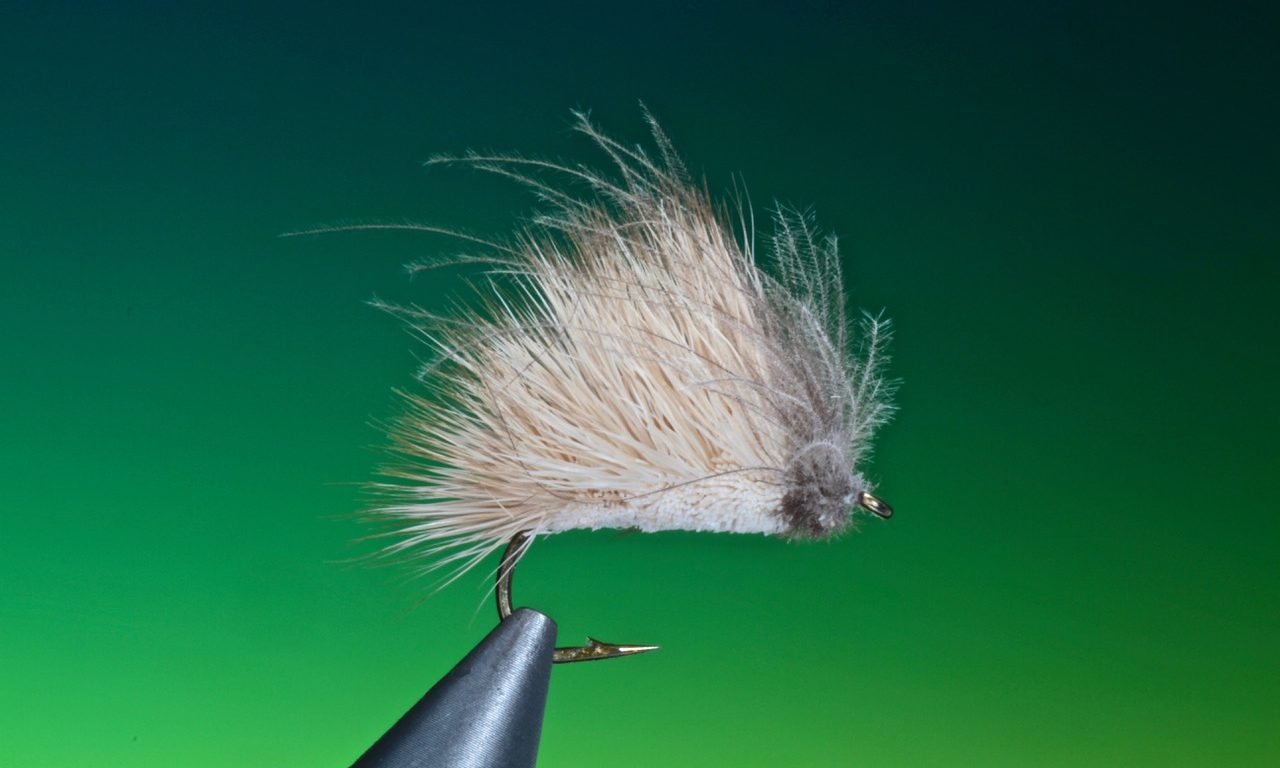 fly tying nervous blonde dry fly
