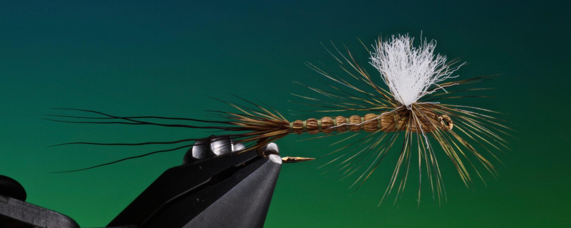 fly tying deer hair drake fly