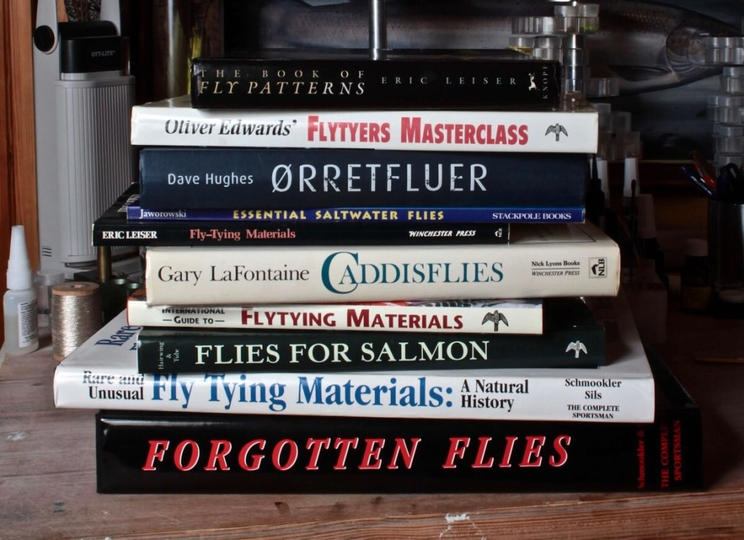 best fly tying books barry ord Clarke recommendation