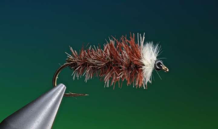 fly tying stick fly larva
