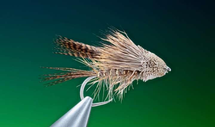 fly tying Hares ear muddler streamer