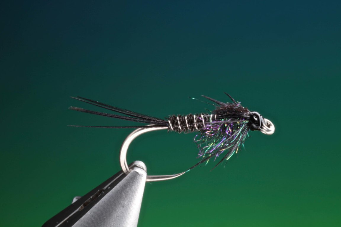 pheasant tail black, how to tie by Barry Ord Clarke